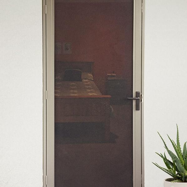 Flyscreens For French Doors: Flyscreen Door & Pair Of Flyscreen Doors With Rebate